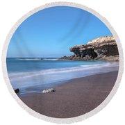Ajuy - Fuerteventury Round Beach Towel