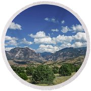Aldo Leopold Wilderness, New Mexico Round Beach Towel