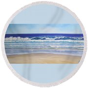 Alexandra Bay Noosa Heads Queensland Australia Round Beach Towel