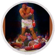 Ali Round Beach Towel