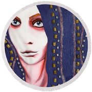 Alice Round Beach Towel