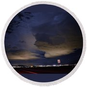 Alive Past 55 Round Beach Towel