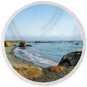All In One Spot Round Beach Towel