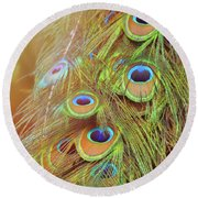All-seeing Round Beach Towel