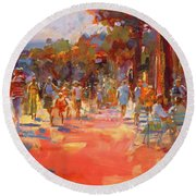 All Summer In A Day Round Beach Towel