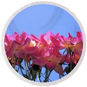 All Together Now Round Beach Towel