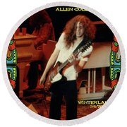 A C Winterland 1976 Round Beach Towel