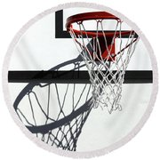 Alley Hoop Round Beach Towel