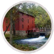 Alley Sprng Mill 3 Round Beach Towel