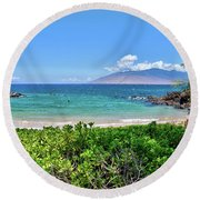 Aloha Friday Round Beach Towel