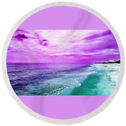 Alternate Beach Escape Round Beach Towel
