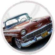 Alway Chevy Round Beach Towel