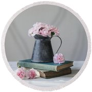 Round Beach Towel featuring the photograph Always With Me by Kim Hojnacki