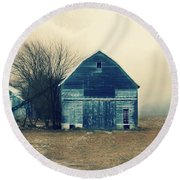 Round Beach Towel featuring the photograph Always Work To Do by Julie Hamilton