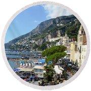 Amalfi Round Beach Towel
