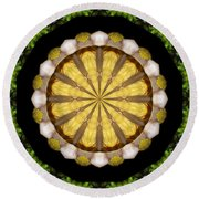 Amazon Kaleidoscope Round Beach Towel