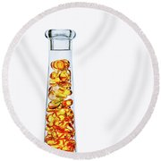 Amber #8429 Round Beach Towel
