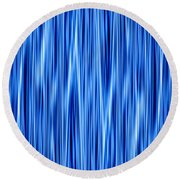 Round Beach Towel featuring the digital art Ambient 8 by Bruce Stanfield