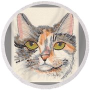 Amelia Round Beach Towel