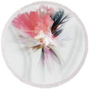 An Aroma Of Grace Round Beach Towel