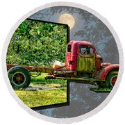 An Old Relic Round Beach Towel by EricaMaxine  Price