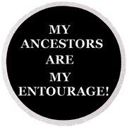 Ancestors Round Beach Towel
