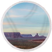 Ancient Voices Round Beach Towel