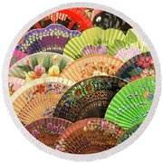 Andalusia Colors Round Beach Towel