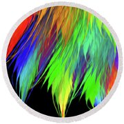 Andee Design Abstract 1 2016 Round Beach Towel