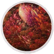 Andee Design Abstract 131 2017 Round Beach Towel