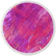Andee Design Abstract 15 2017 Round Beach Towel