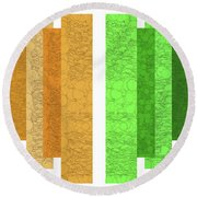 Andee Design Abstract 5 2016 Round Beach Towel
