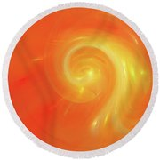 Andee Design Abstract 5 2017 Round Beach Towel