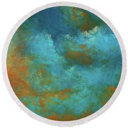 Andee Design Abstract 55 2017 Round Beach Towel