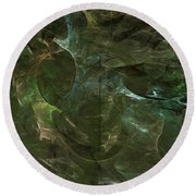 Andee Design Abstract 75 2017 Round Beach Towel
