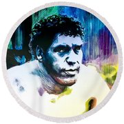 Andre The Giant Round Beach Towel