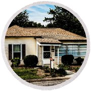 Andy's House Round Beach Towel