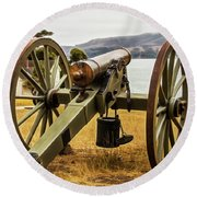 Angel Island Cannon Round Beach Towel