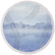 Angel Mist Round Beach Towel