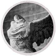 Angel Wing - #2 Round Beach Towel