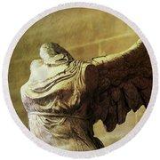 Angel Wing - #10 Round Beach Towel