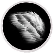 Angel Wing Round Beach Towel