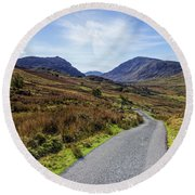 Angels Path Round Beach Towel by Ian Mitchell