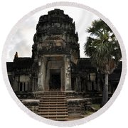 Angkor Wat 4 Round Beach Towel