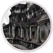 Angkor Wat 6 Round Beach Towel