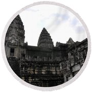 Angkor Wat 7 Round Beach Towel