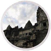 Angkor Wat 8 Round Beach Towel