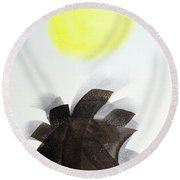 Another Day Round Beach Towel