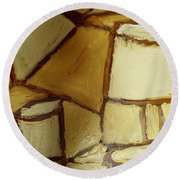 Another Lamp Round Beach Towel