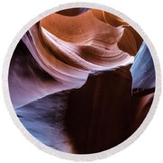 Antelope Canyon 11 Round Beach Towel